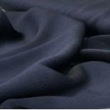 Tissu doublure bleu marine gauffré - France Duval Stalla