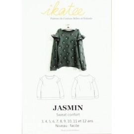 Patron Sweat enfant Jasmin - Ikatee