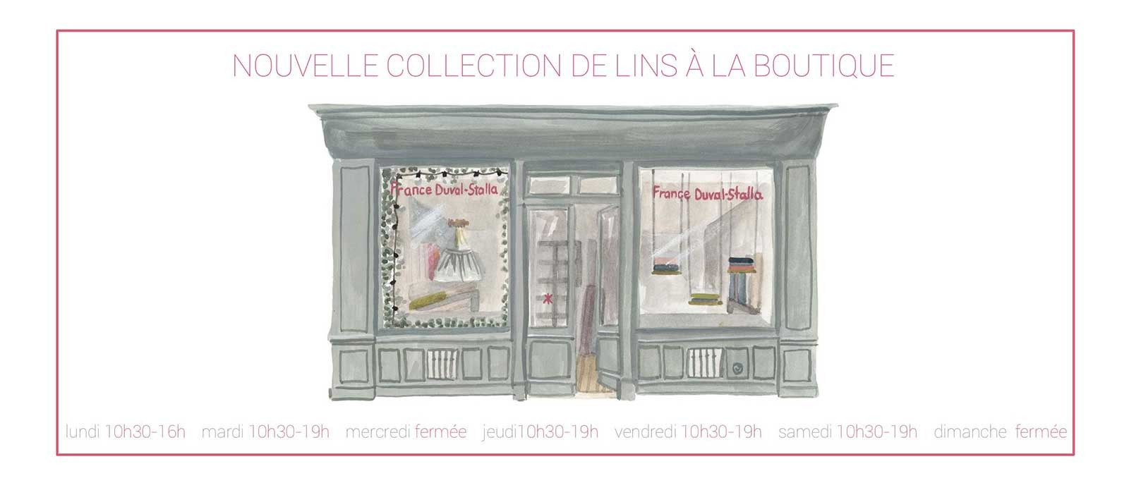 boutique illustration